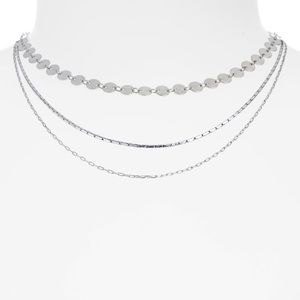 Madewell Disc Layer Necklaces